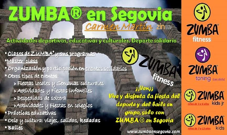 ZUMBA® en Segovia Blog - Carmen Martín