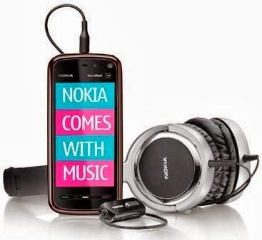 O descontinuado Nokia Comes With Music - 367x337
