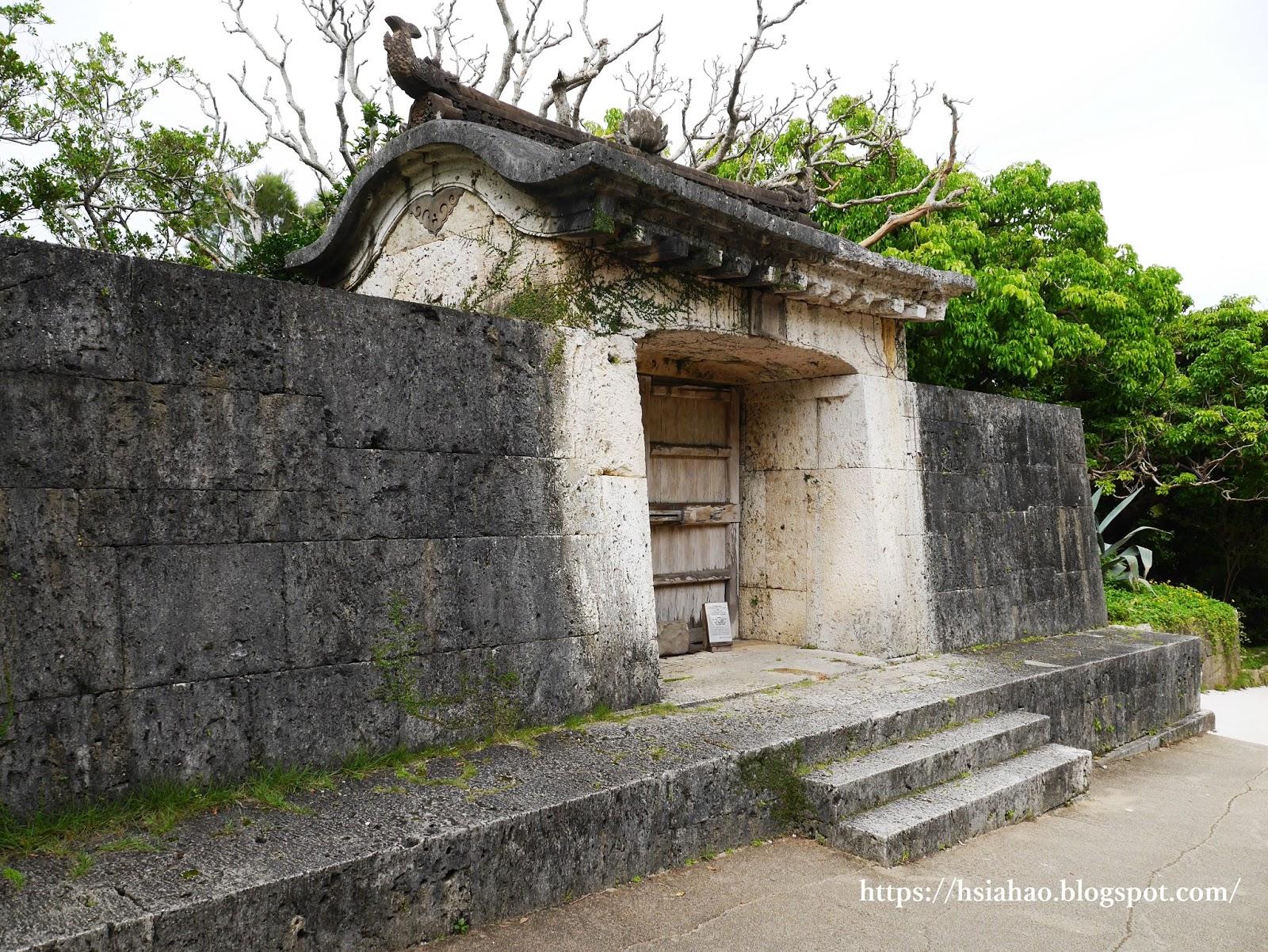 沖繩-景點-園比屋武禦嶽-世界遺產-首里城-自由行-旅遊-旅行-Okinawa-Naha-Shuri-Castle