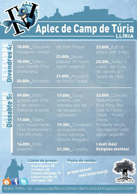 IV Aplec Camp de Túria