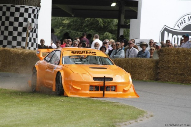 Toyota Celica at Goodwood Festival of Speed