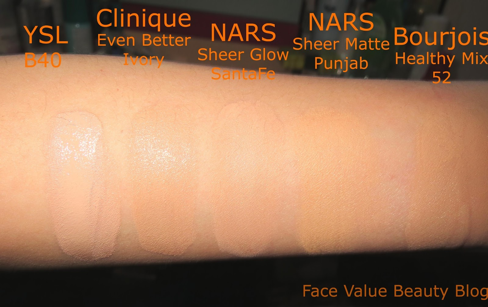 Clinique Even Better Foundation Swatch