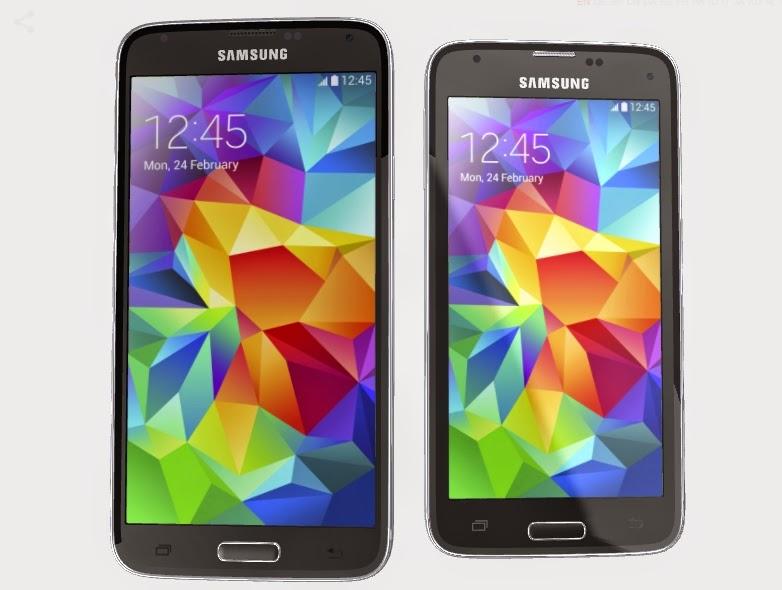 Galaxy S5 ve Galaxy S5 Mini arasındaki farklar