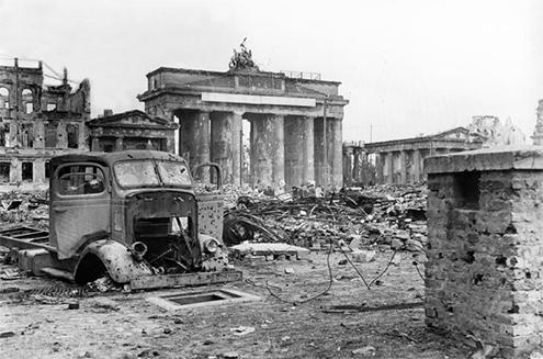 Puerta De Brandenburgo Berlin Alemania 1788 1791
