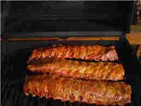 BBQ smoked ribs
