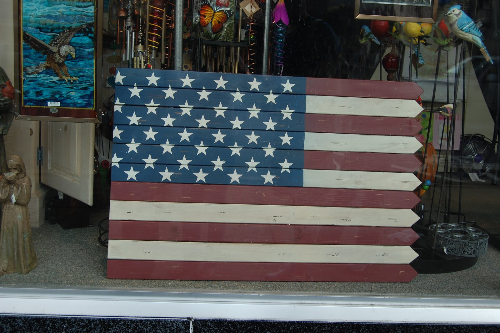 My Art Glass World Old Fence Home Decor For 4th Of July