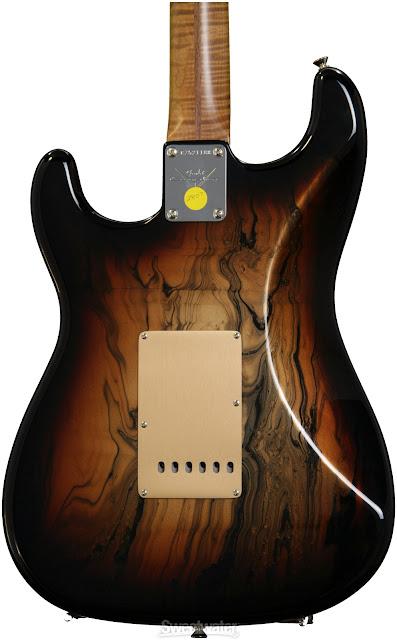 Fender Custom Shop Copper Bowling Ball Swirl Strat