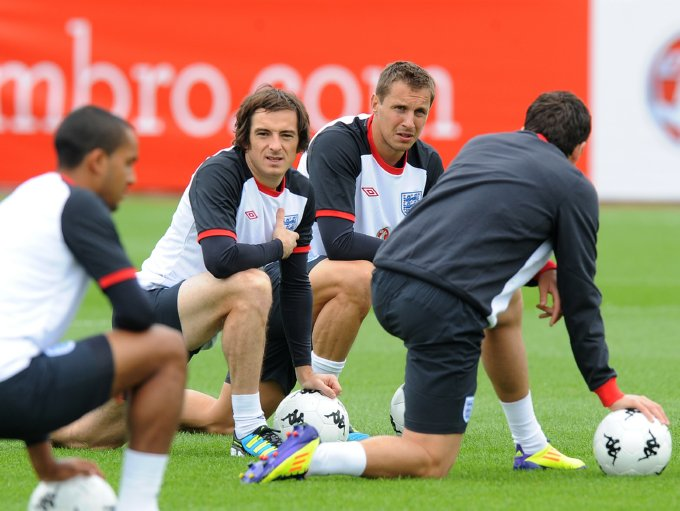 England training camp