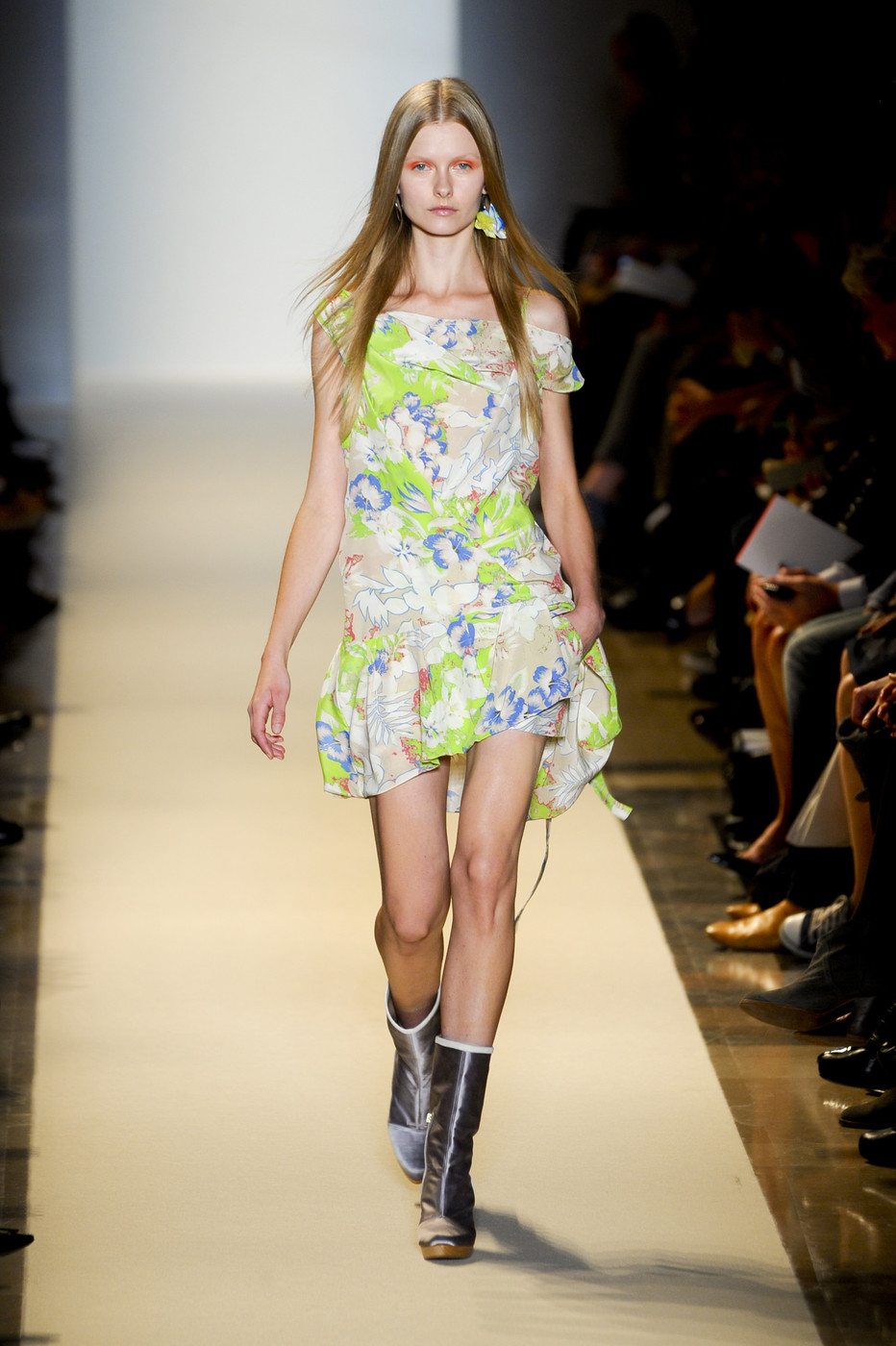 via fashioned by love | Vanessa Bruno Spring/Summer 2011 | floral trend