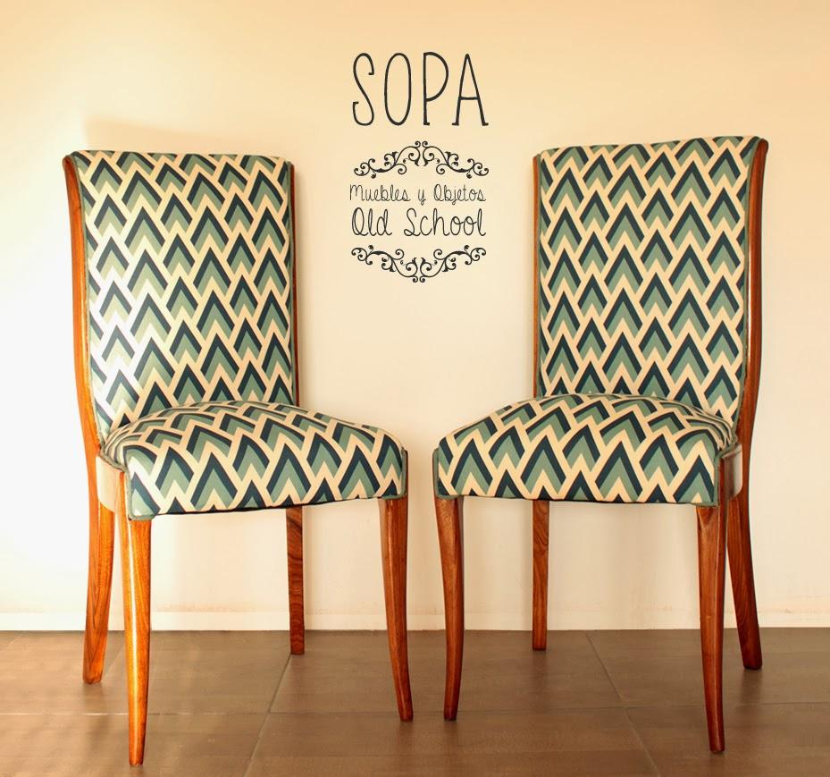 Sopa muebles y objetos old school sillas francesas tapizadas - Sillas tapizadas vintage ...
