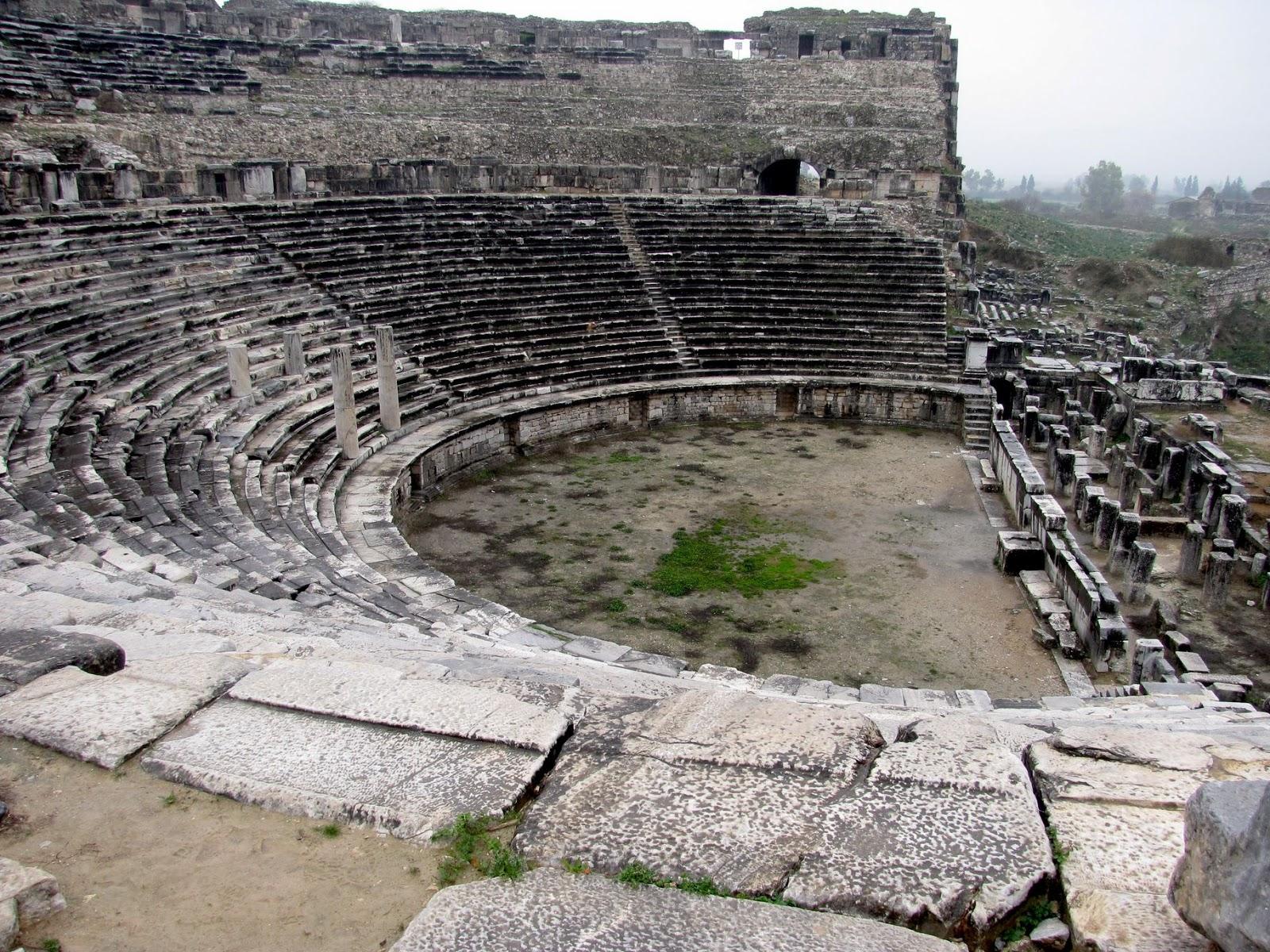 Turquía, Mileto, teatro