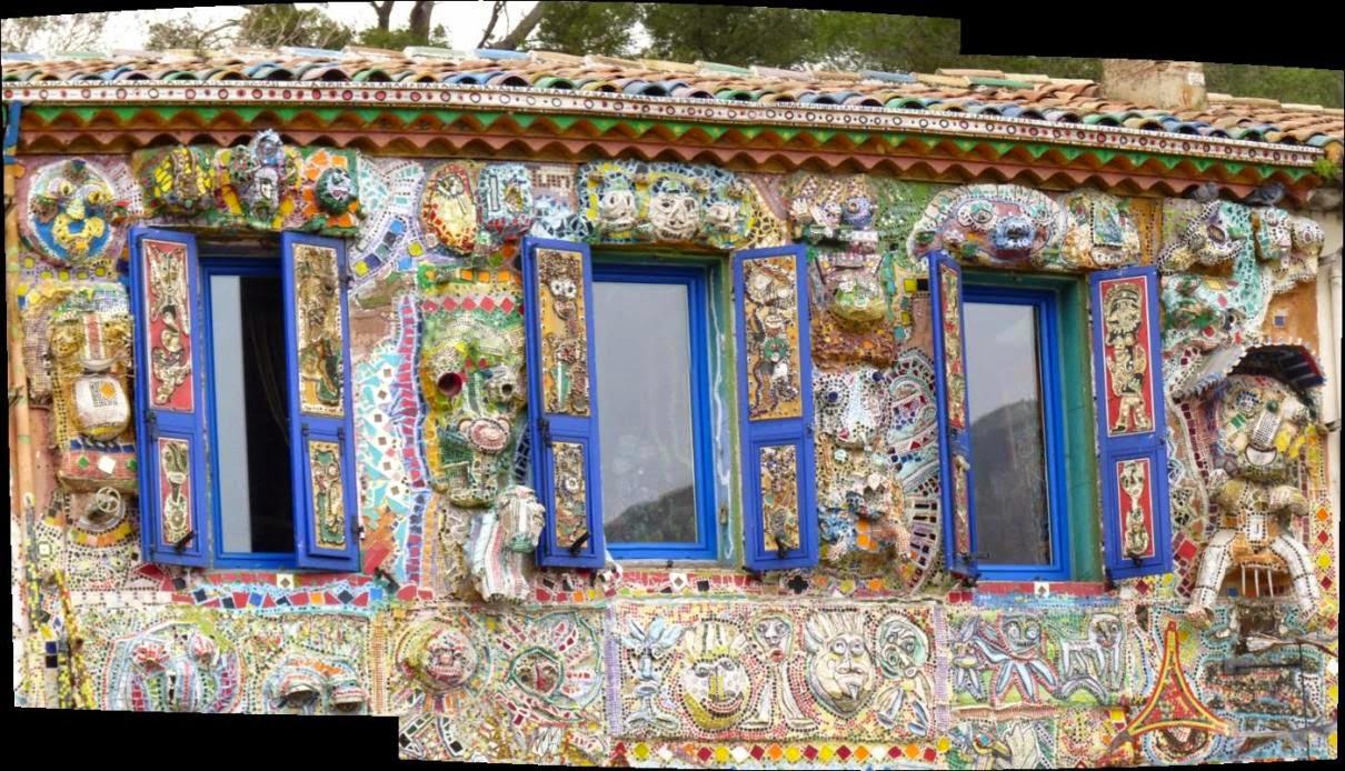 En provence et ailleurs la maison de celle qui peint for Garage pont de l etoile
