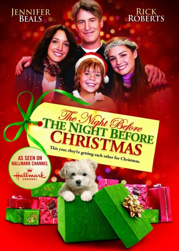 the night before the night before christmas airs monday december 23 at 4am angela and wayne fox jennifer beals and rick roberts could not be more - Christmas Movies 2013