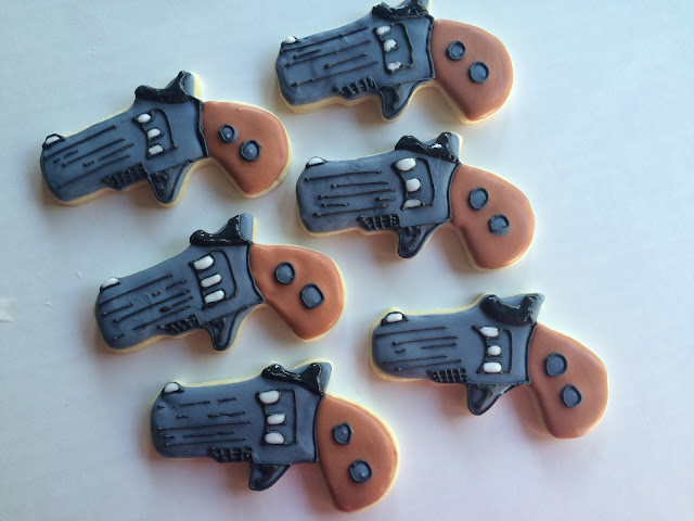 Arizona Desert / Beer /Guns Cookies by Sweet Jenny Belle