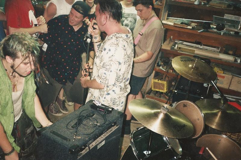 SPAWN SACS - Melita's Basement - 1997 - Dalton, GA - Photo by Greg  title=