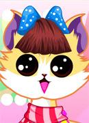 Милый котик - Онлайн игра для девочек