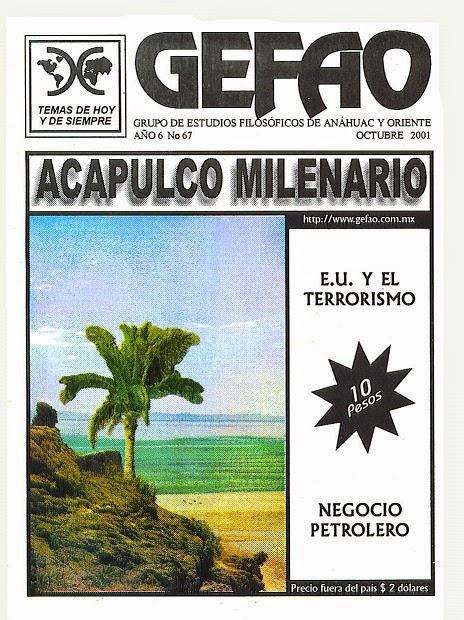 ACAPULCO MILENARIO REVISTA GEFAO
