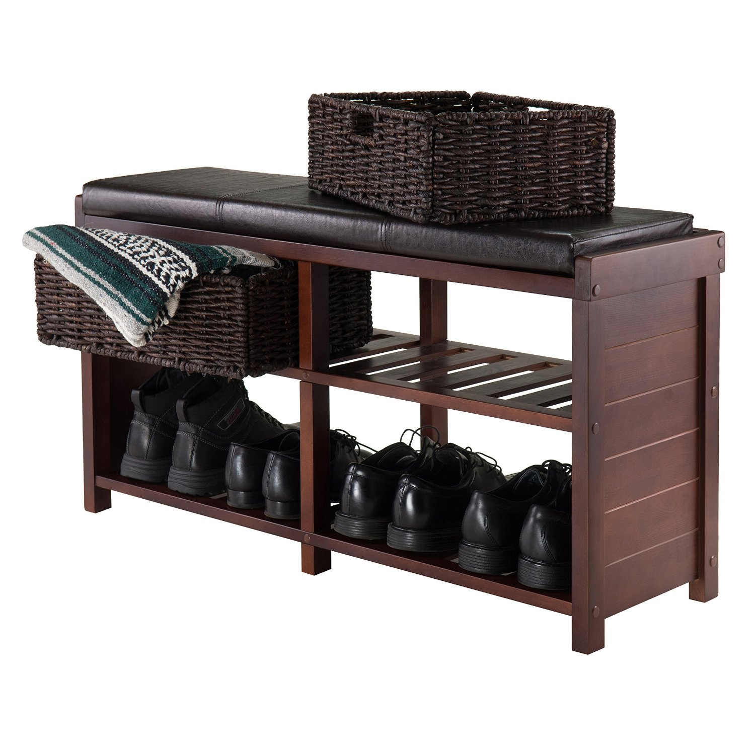 Total fab bedroom storage bench seat for Bedroom storage bench
