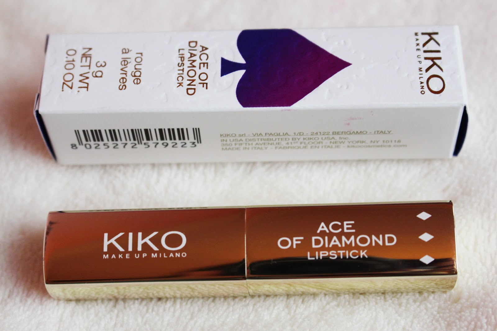 Kiko Ace of Diamond lipstick 27