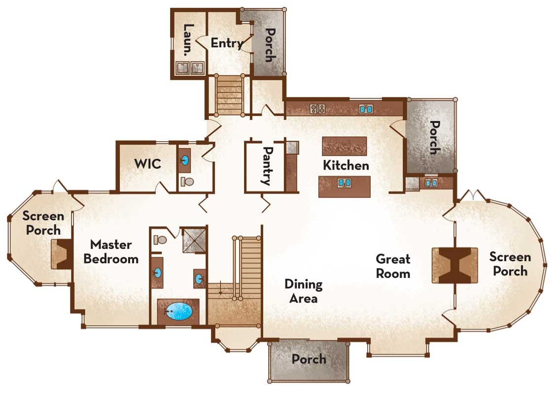 Home House Plan and Picture