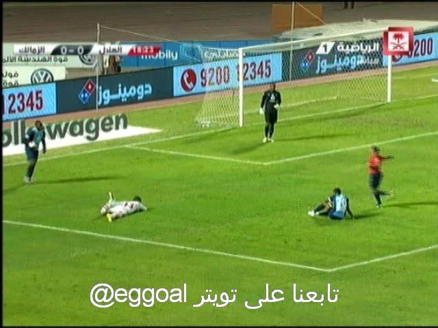 اهداف مباراة الزمالك و الهلال  السعودى الودية الاربعاء 14-1-2015