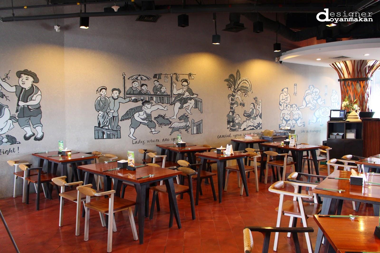 Designer doyan makan foodvaganza at lippo mall kemang