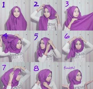 Aneka Tutorial Hijab Pashmina Casual