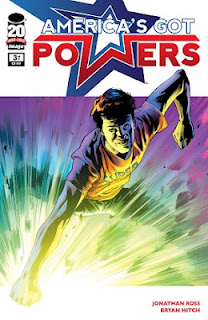 America's Got Powers #3 Jonathan Ross Bryan Hitch