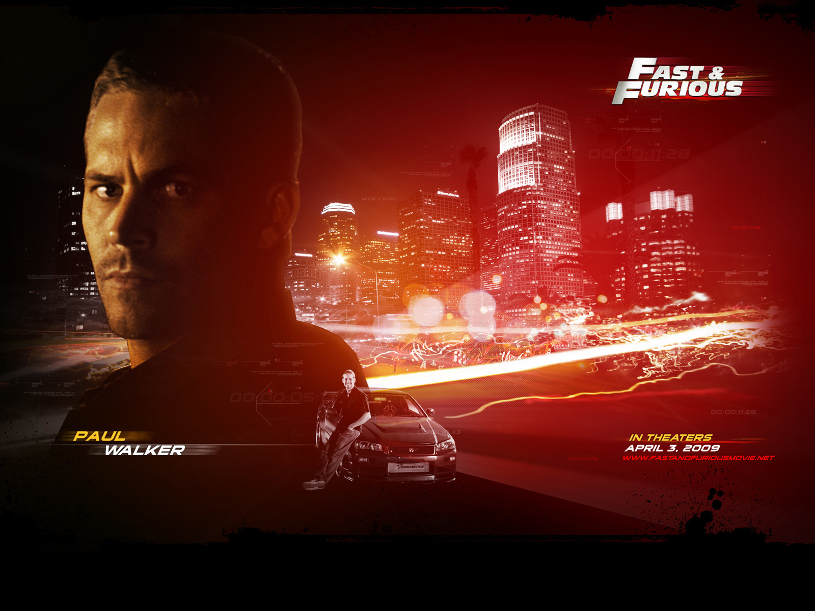 wallpaper HD paul walker fast and furious 7