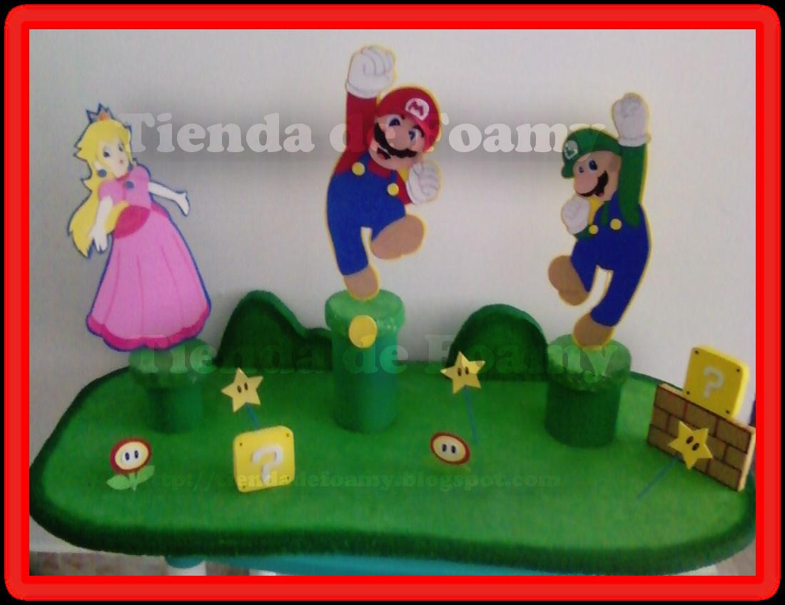 Decoracion De Fiestas Infantiles De Mario Bros