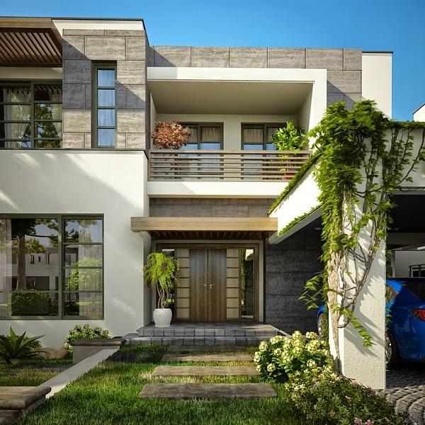 Modern House Plans & House Designs in Modern Architecture,1 Kanal Plot ...