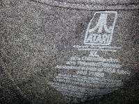 Atari t-shirt tag