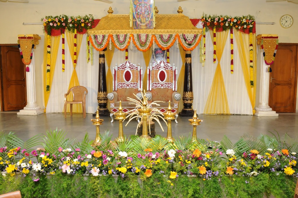 Most beautiful wedding stage decoration ideas designs 2015 for Sample wedding decorations