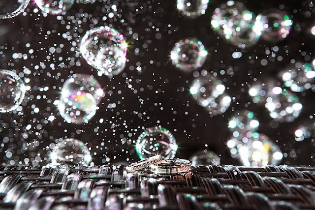 bubble of water