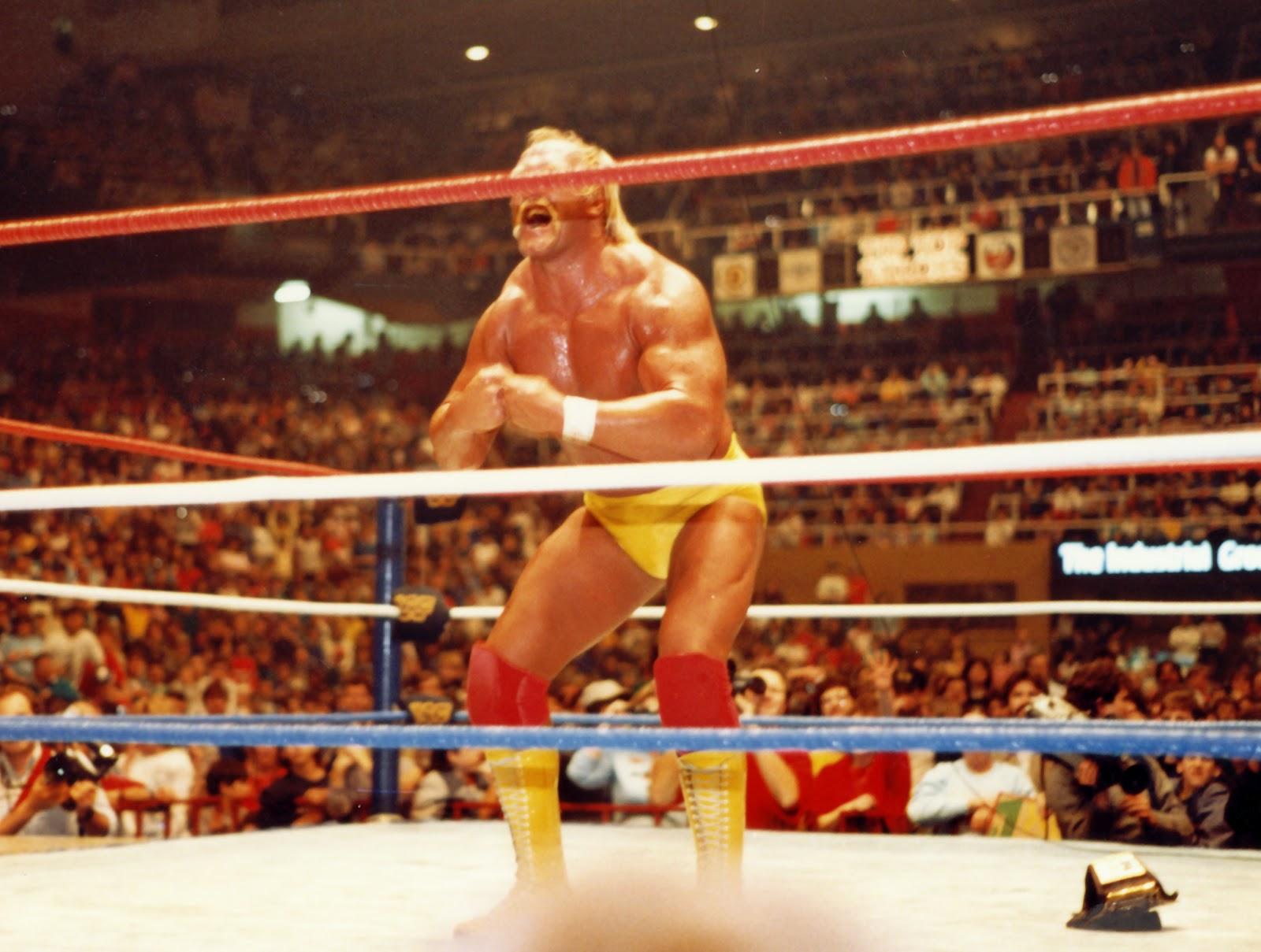Kamala defeats Hulk Hogan in title match December 1986 in Toronto – Hulk Hogan Birthday Card