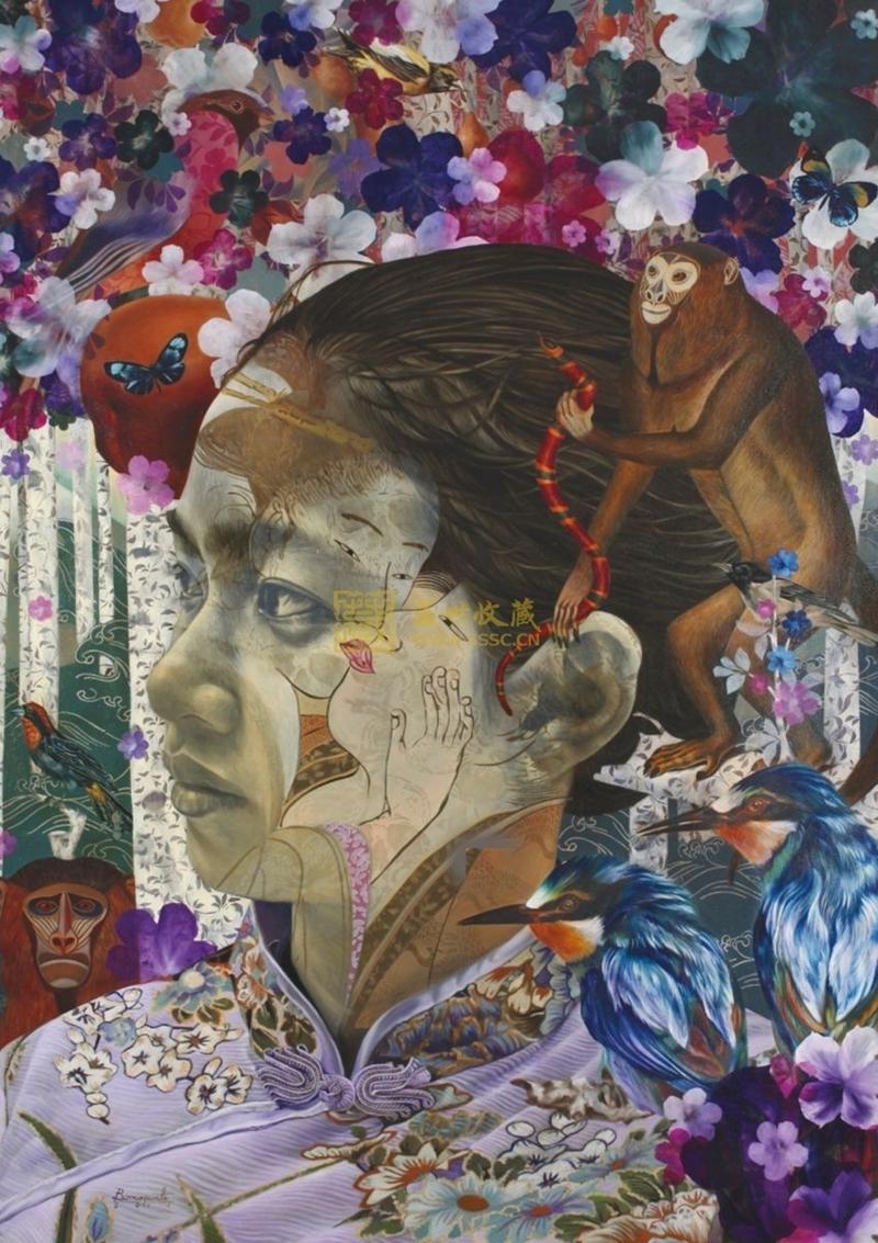 Shadow Dancer | Andres Barrioquinto 1975 | Filipino Surrealist  painter