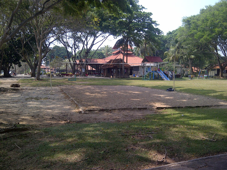 area volly pantai