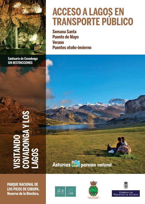 Transporte Público a Los Lagos y Covadonga