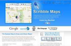 Scribble Maps: dibujar en un mapa de Google Maps y compartirlo