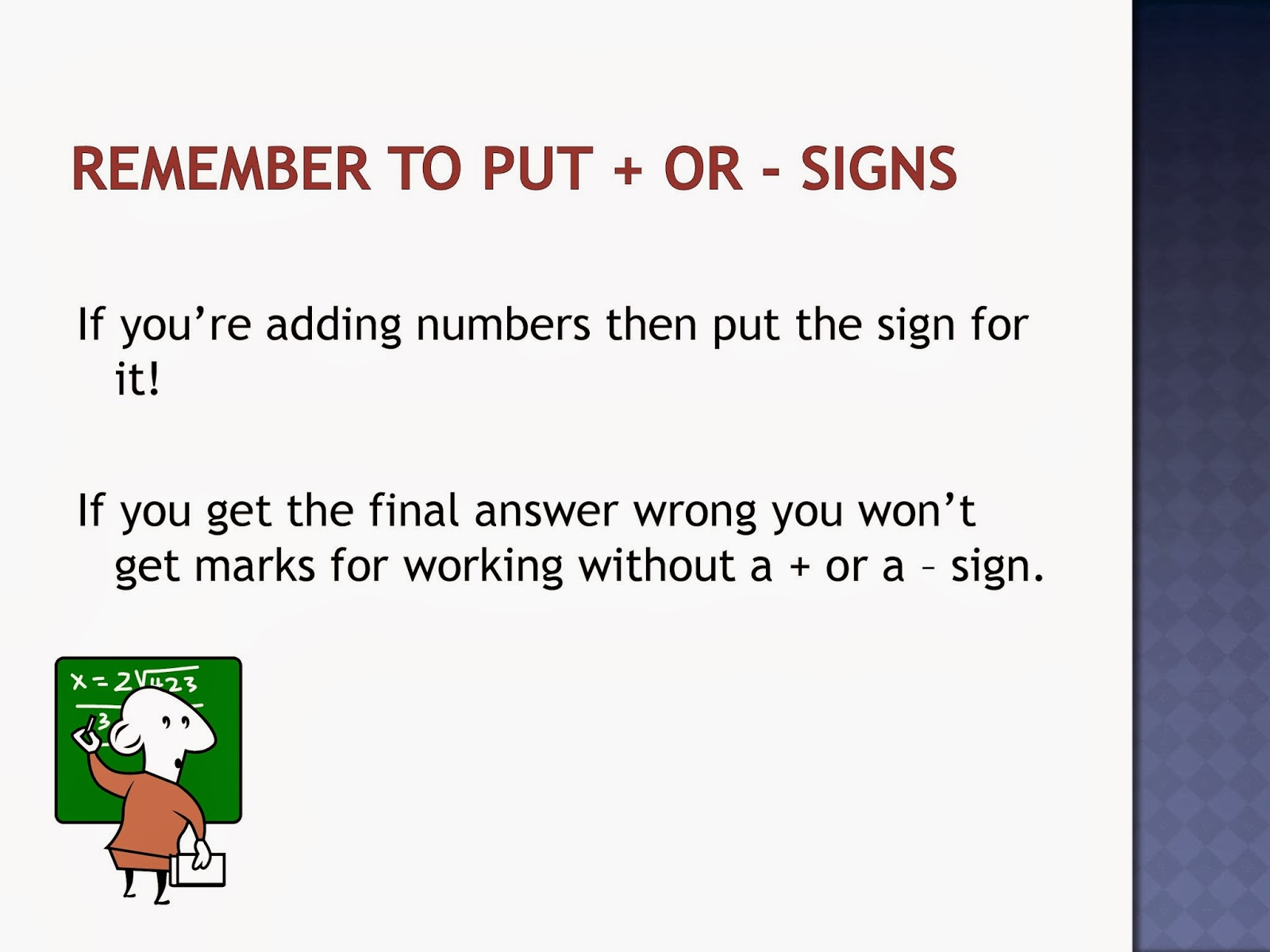 Gcse Maths Easy Ways To Make Sure You on Posters For Bodmas Bidmas Misconception