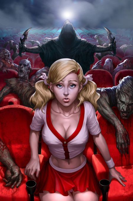 Stanley Lau artgerm deviantart ilustrações mulheres sensuais games quadrinhos Filme de terror