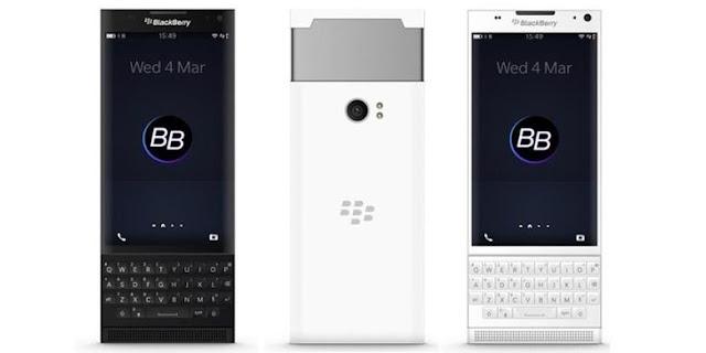 fotos del Smartphone BlackBerry Venice con teclado deslizante