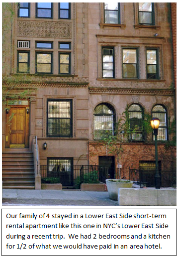 New York Stay Short Term Holiday Vacation Apartments Trust