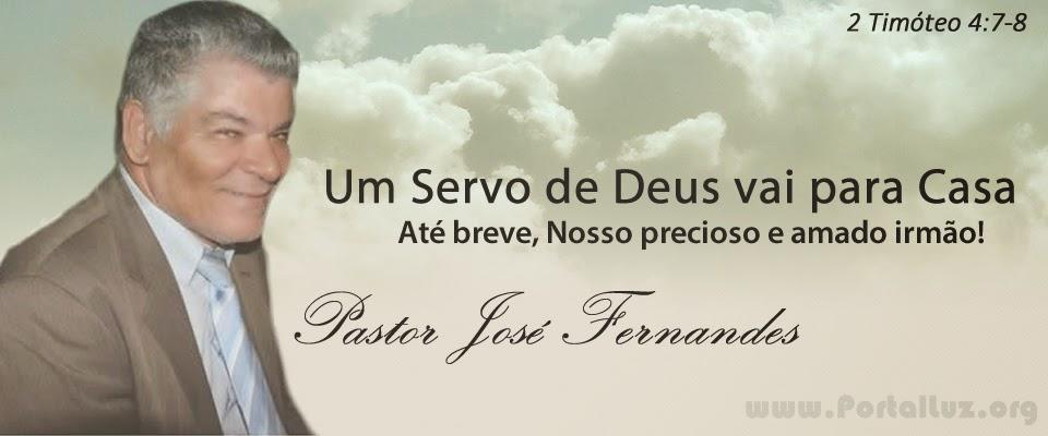 Poesia Homenagem Pastor José .