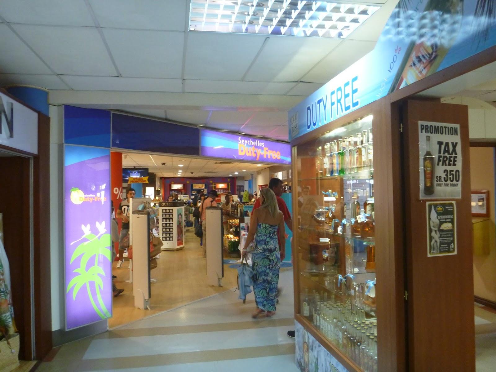 Duty Free - aéroport de Mahé