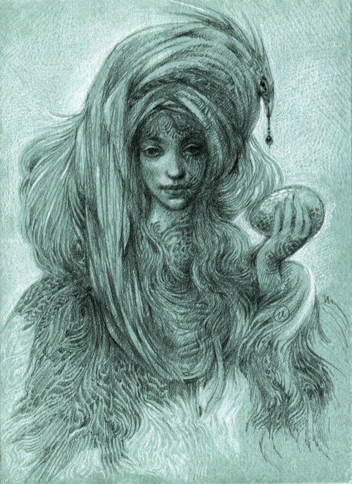 06-You-Wanted-to-Steal-It-Olga-Anwaraidd-Drawings-Fantasy-Portraits-Imaginary-Characters-www-designstack-co