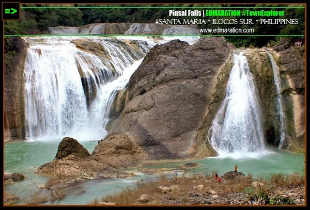 Pinsal Falls | Sta. maria, Ilocos Sur