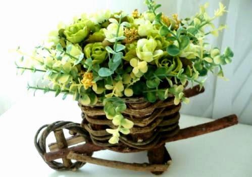 Decoração com plantas artificiais 8