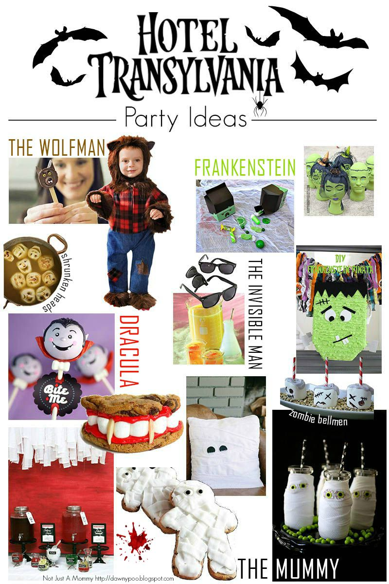 Hotel Transylvania party ideas