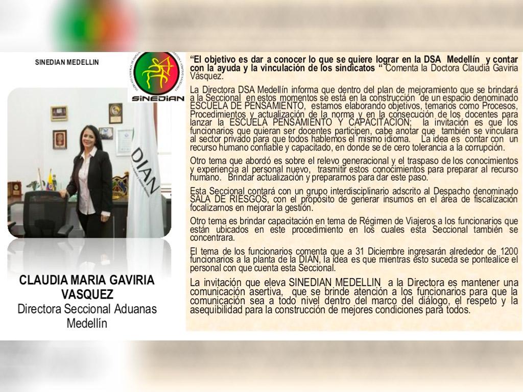 Boletín Subdirectiva Medellín